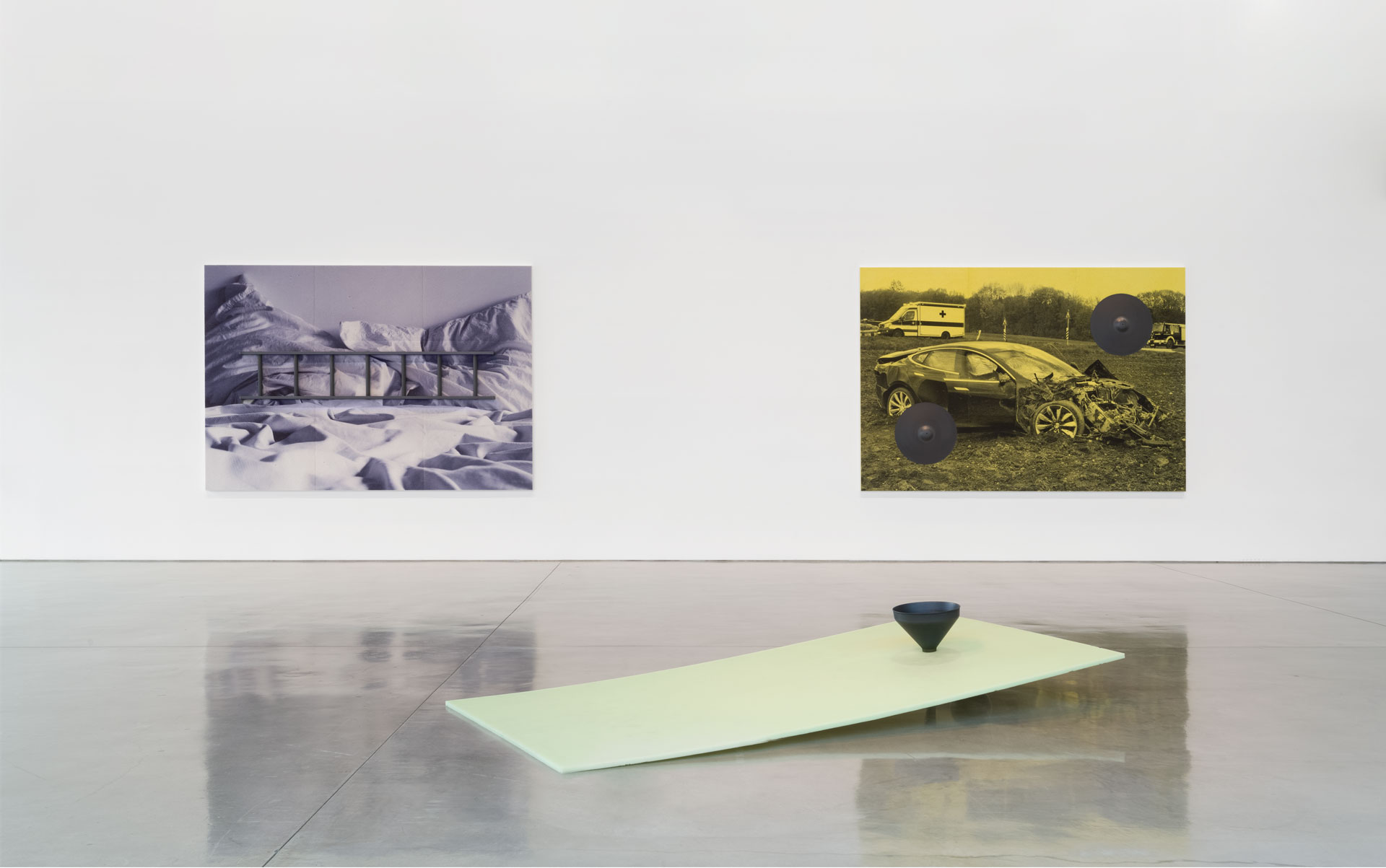 Pun intended: Adam McEwen's Nighthorses at Gagosian Beverly Hills